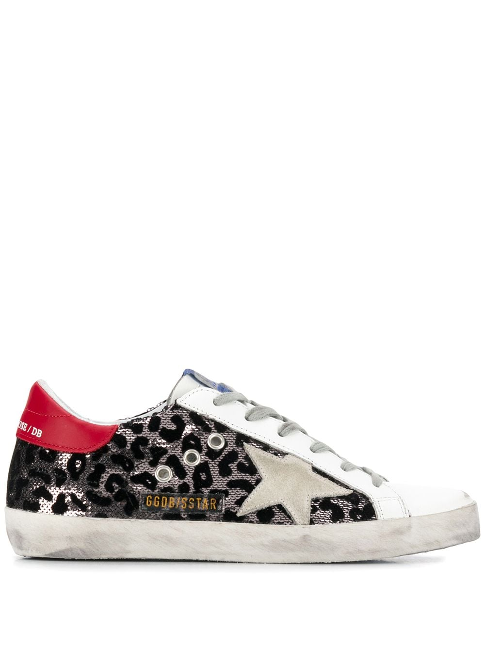 Superstar Leopard Print Sneakers
