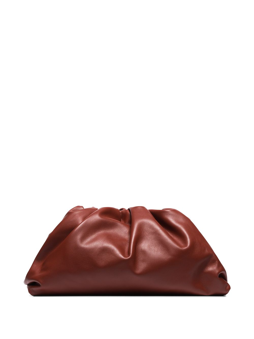 The Pouch Clutch Burgandy