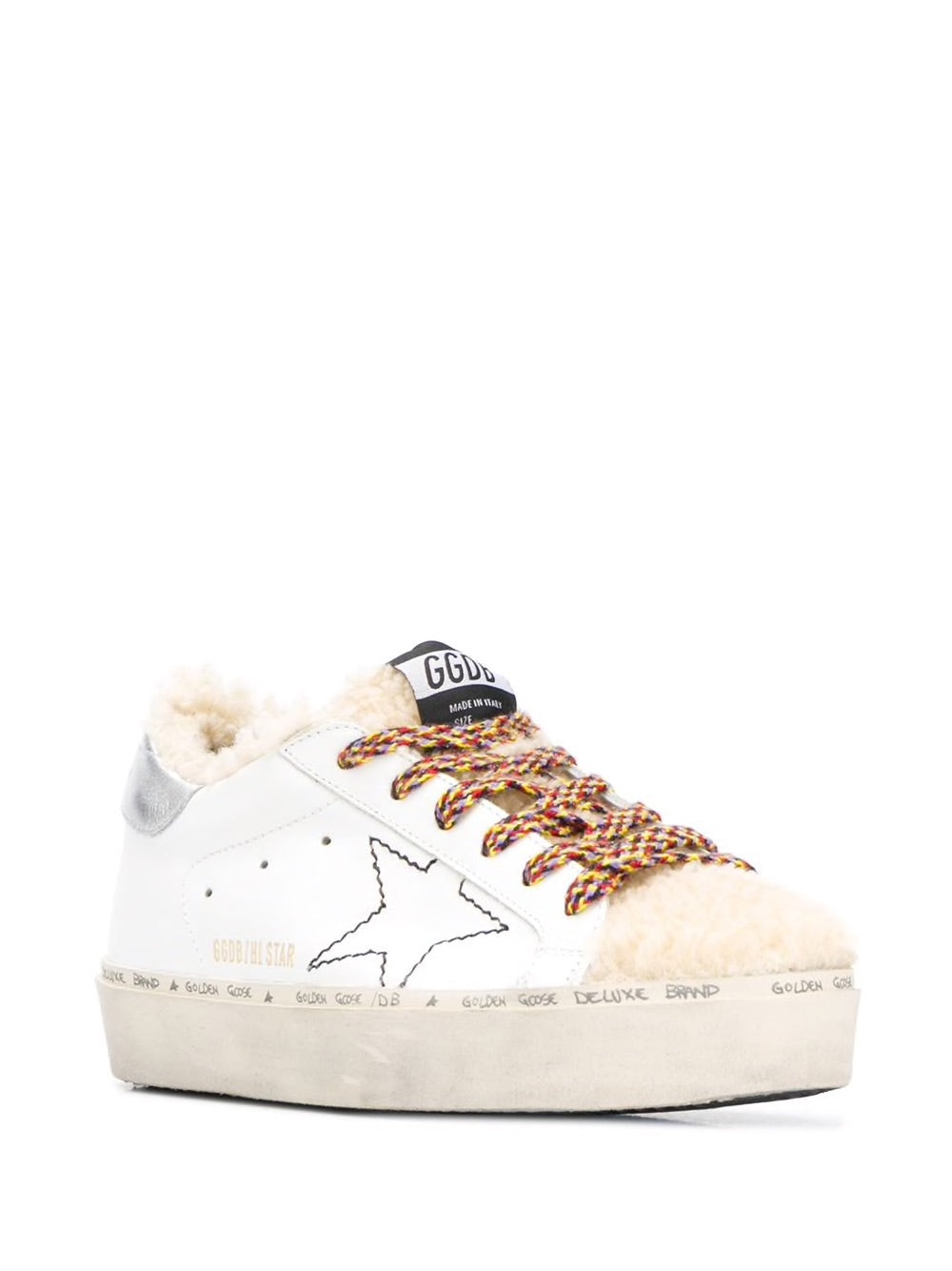 K2 Shearling Hi Star sneakers 3/4