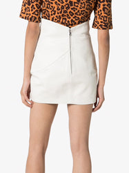 The Attico V-Cut Waist Mini Skirt