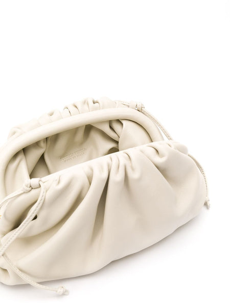 The Mini Pouch Crossbody Bag White Open