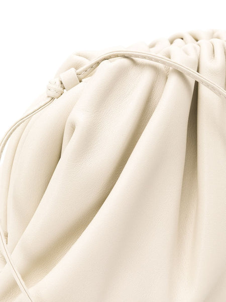 The Mini Pouch Crossbody Bag White Detail
