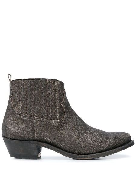 Crosby Sparkle-Effect Ankle Boots