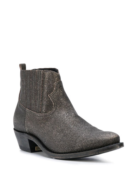 Crosby Sparkle-Effect Ankle Boots 3/4