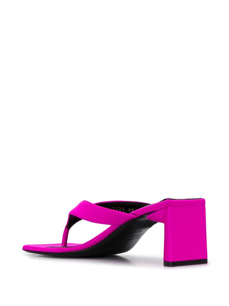 Double Square 60mm sandals Back