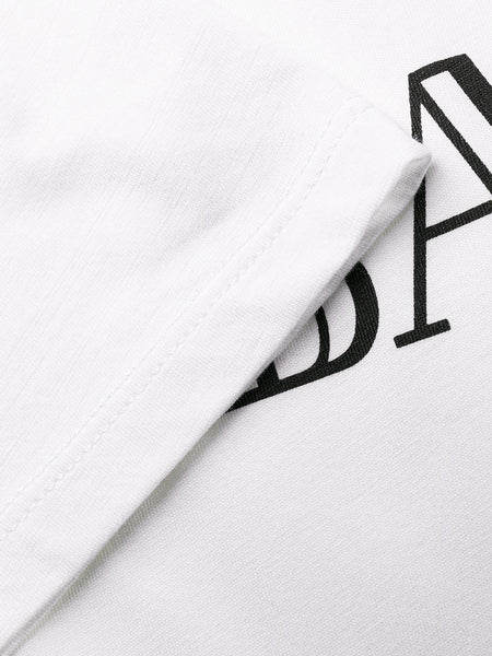 Logo Print T-Shirt White Detail