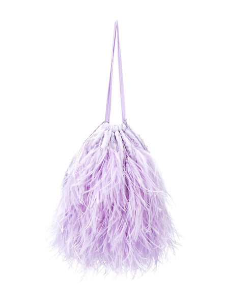 Greta Feather Handbag
