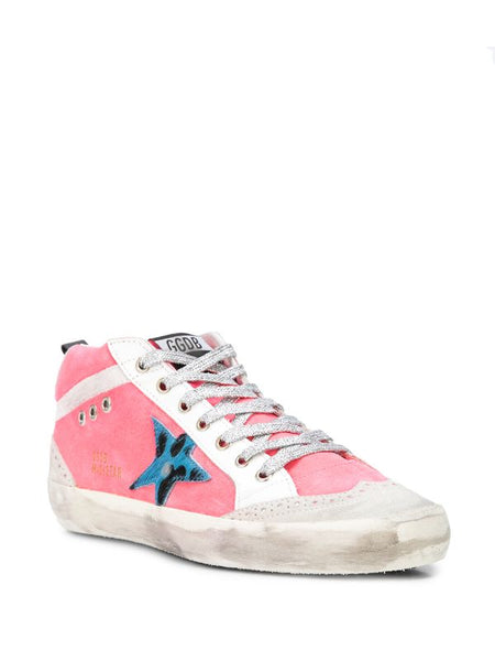Mid-Star Lace Up Sneakers 3/4