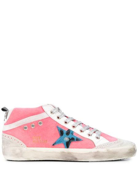 Mid-Star Lace Up Sneakers