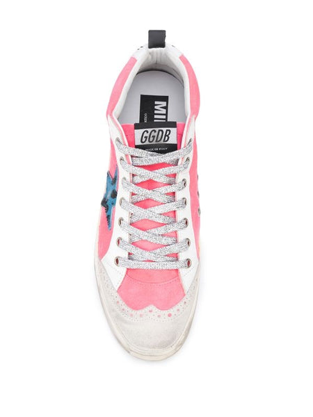 Mid-Star Lace Up Sneakers Top