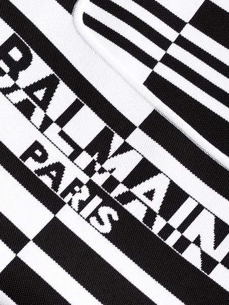 Striped Logo Bodysuit Detail