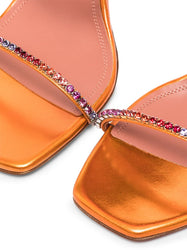 Gilda Crystal Sandals Detail
