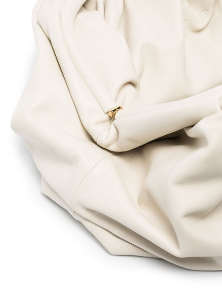 The Pouch Clutch Ivory Detail