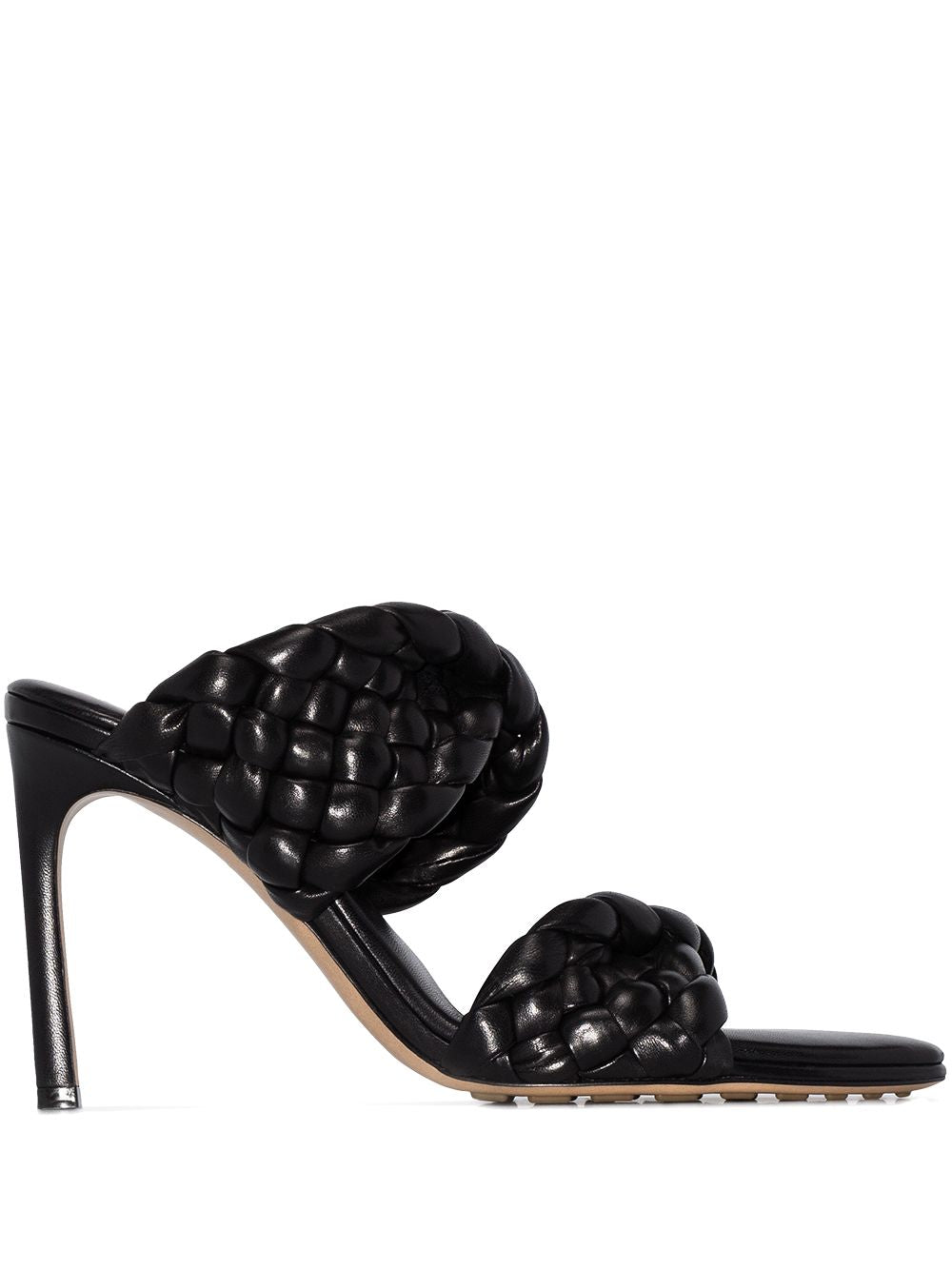 The Curve Sandal - Black