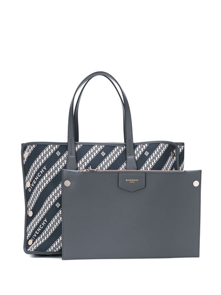 Medium Bond Printed Tote + pouch