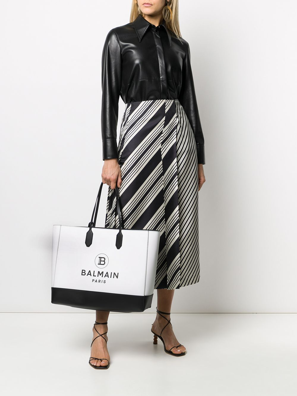 Medium Logo Print Tote Styled