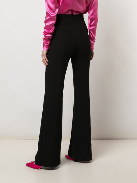 Wide Leg Trousers Back