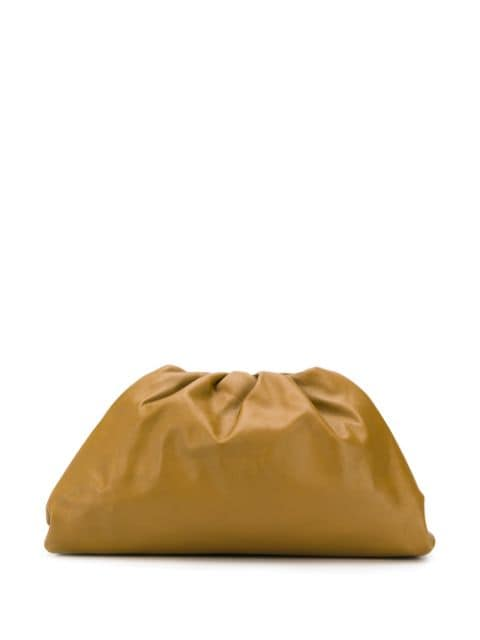 The Pouch Clutch Moutarde