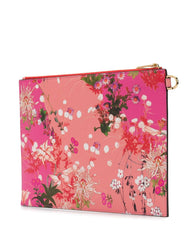 Floral Clutch - back view