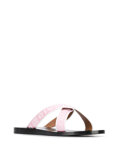 Crisscross Logo Sandals - side view