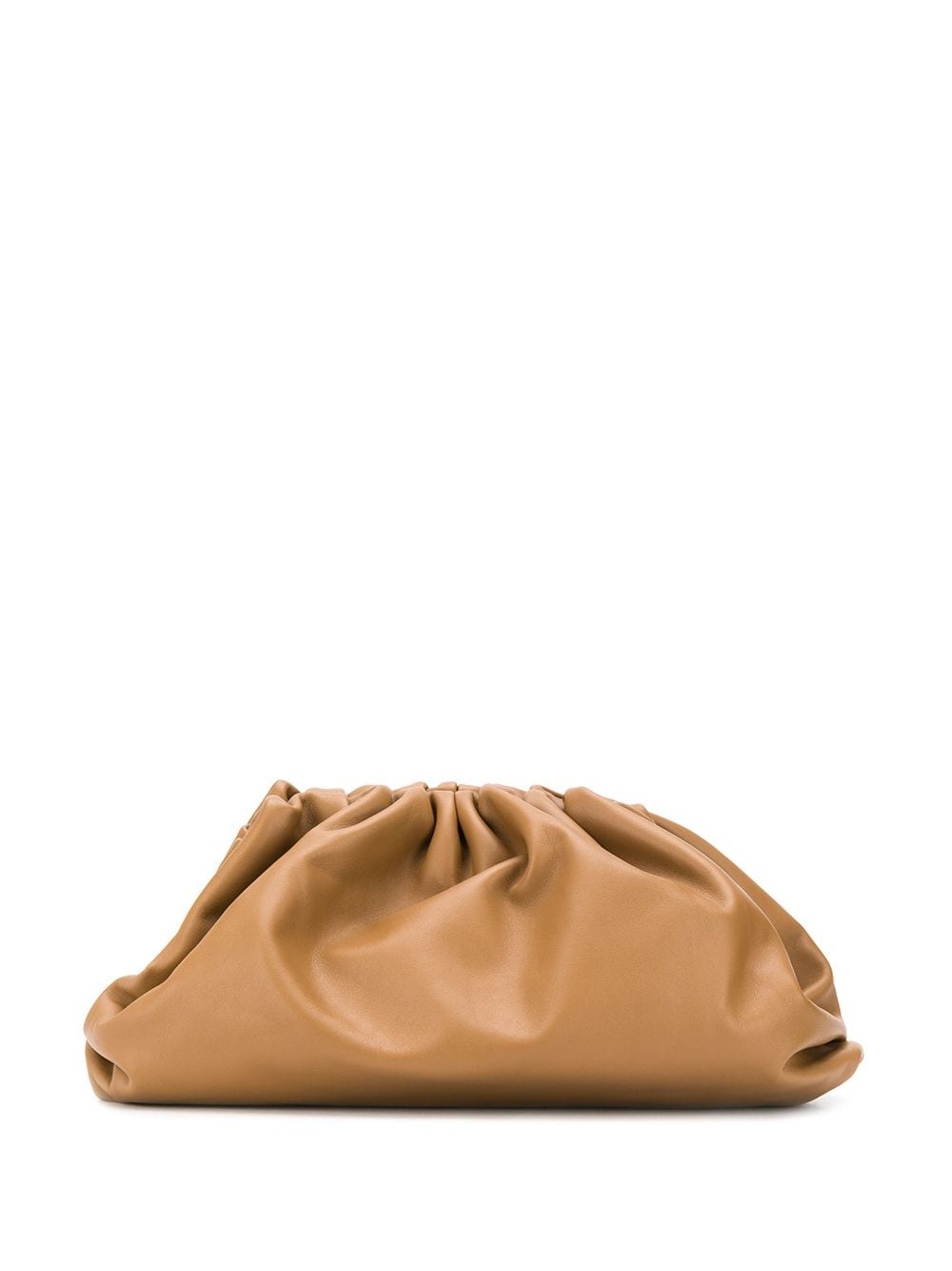 The Pouch Clutch Camel