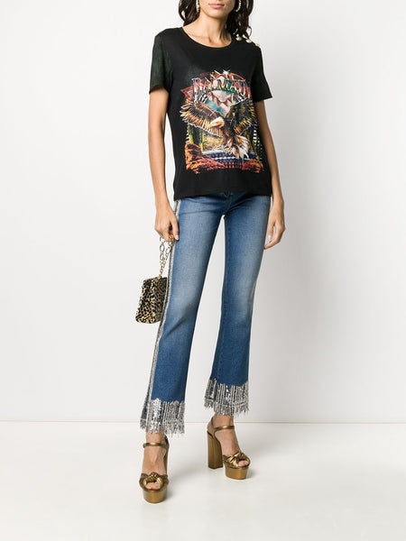 Graphic Print Relaxed-Fit T-Shirt Styled