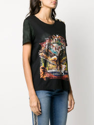 Graphic Print Relaxed-Fit T-Shirt Right