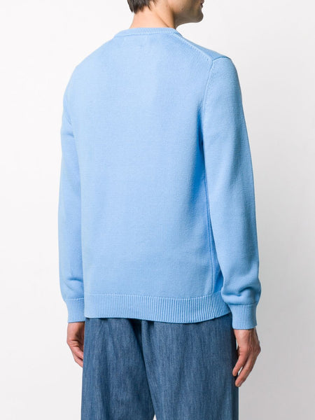 Casa Way Jumper- Blue Back