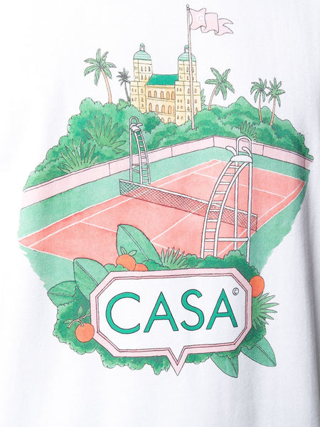 Casa Court T-shirt Detail
