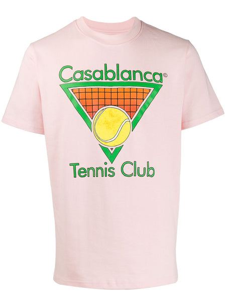 Tennis Club T-shirt - Pink
