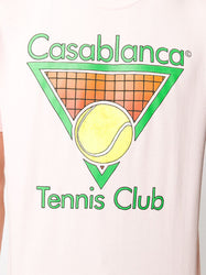Tennis Club T-shirt - Pink Detail
