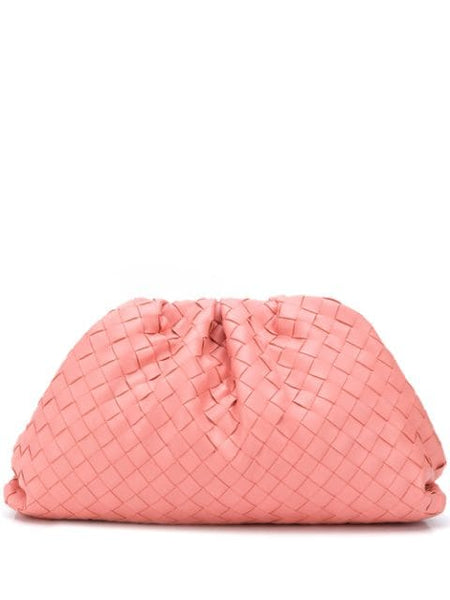 The Woven Pouch - Pink