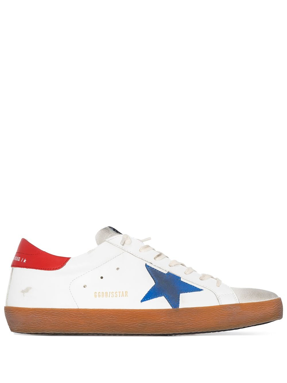 Men's Superstar Leather Sneakers