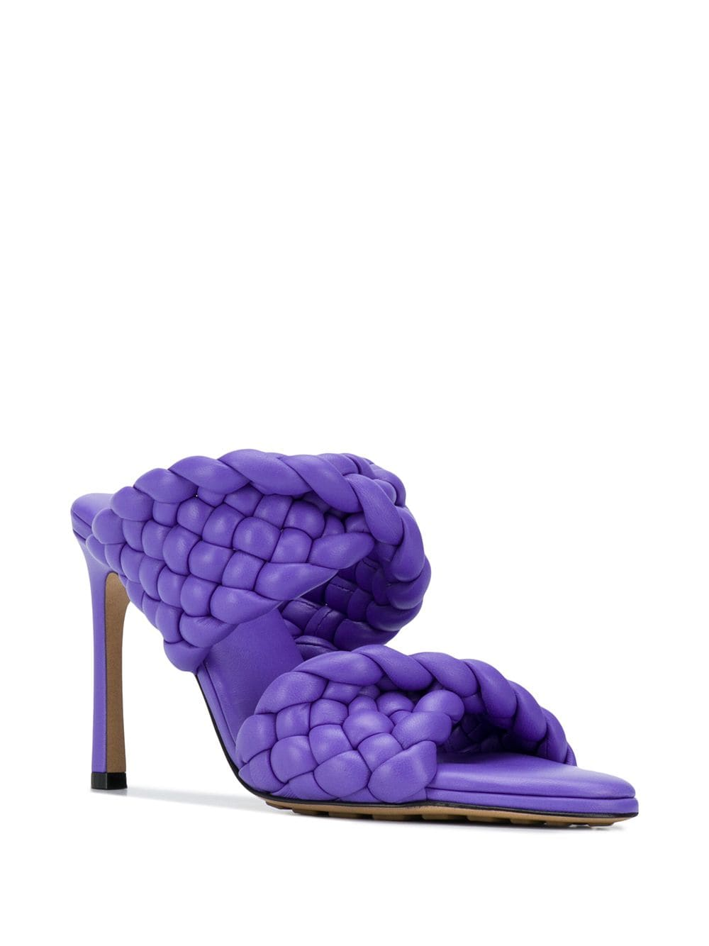 The Curve Sandal - Purple 3/4