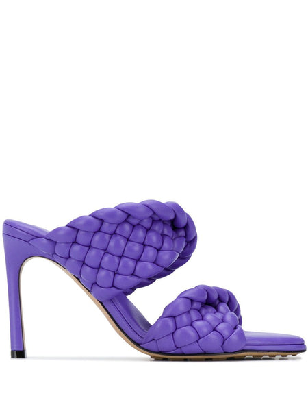 The Curve Sandal - Purple