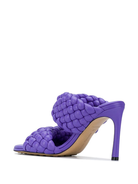 The Curve Sandal - Purple Back