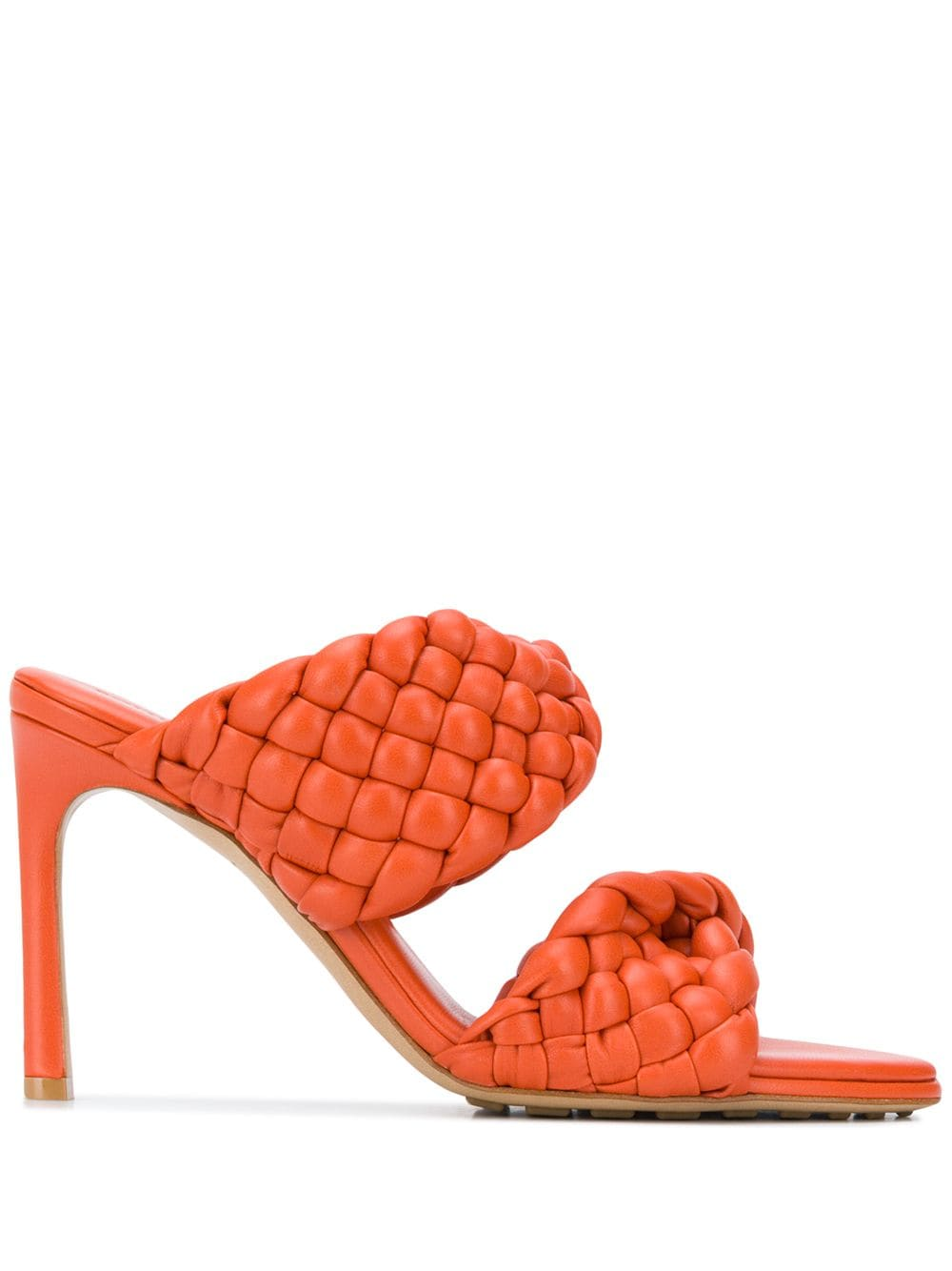 The Curve Sandal - Orange
