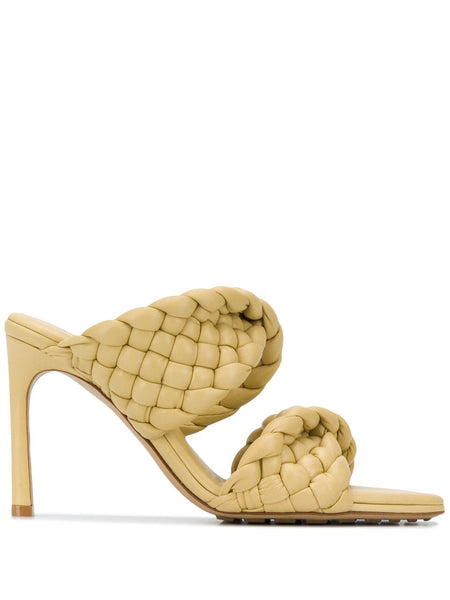 The Curve Sandal - Yellow