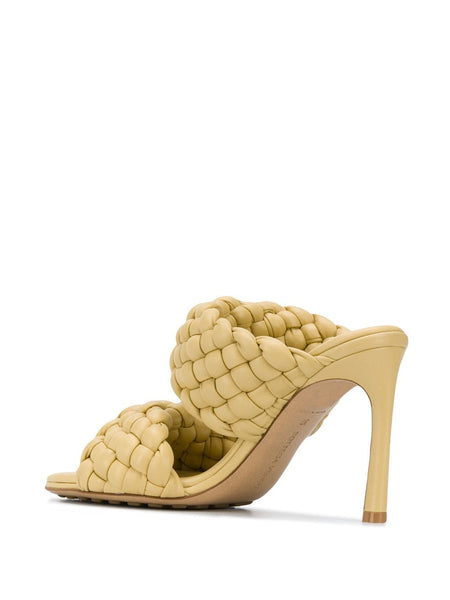 The Curve Sandal - Yellow Back