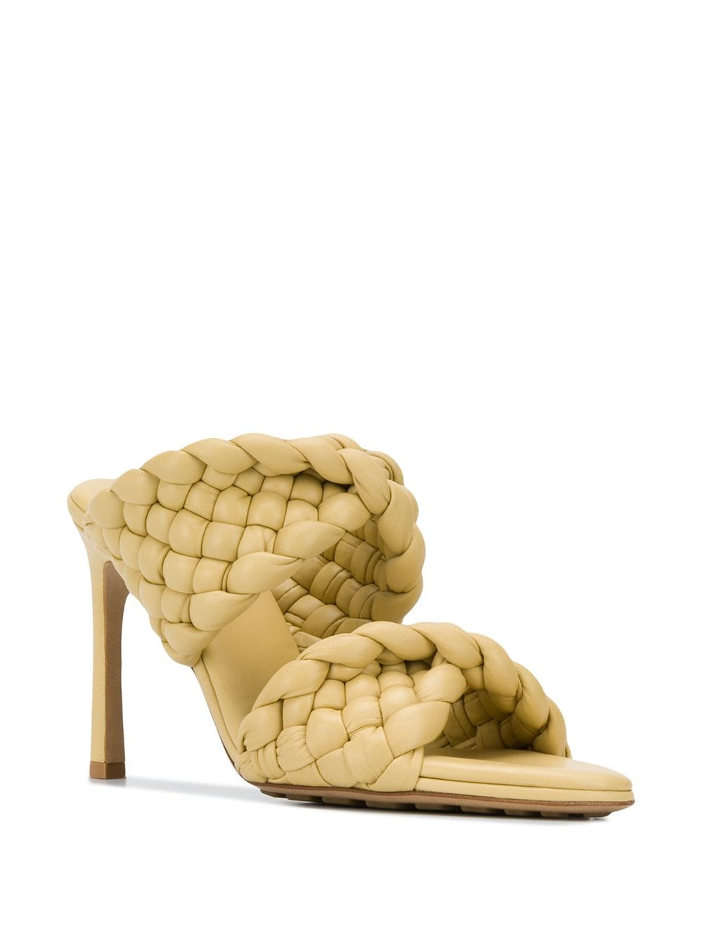 The Curve Sandal - Yellow 3/4