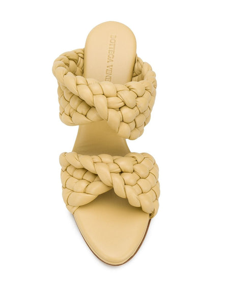 The Curve Sandal - Yellow Top