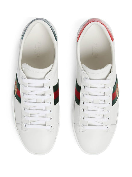 Embroidered Ace Sneakers - White Top