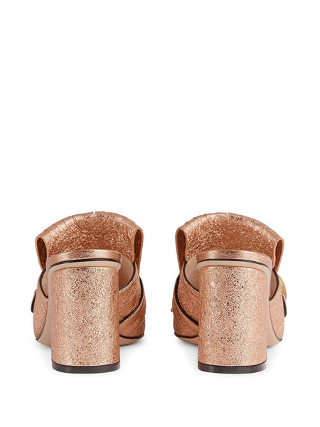 Marmont Mule - Gold Back