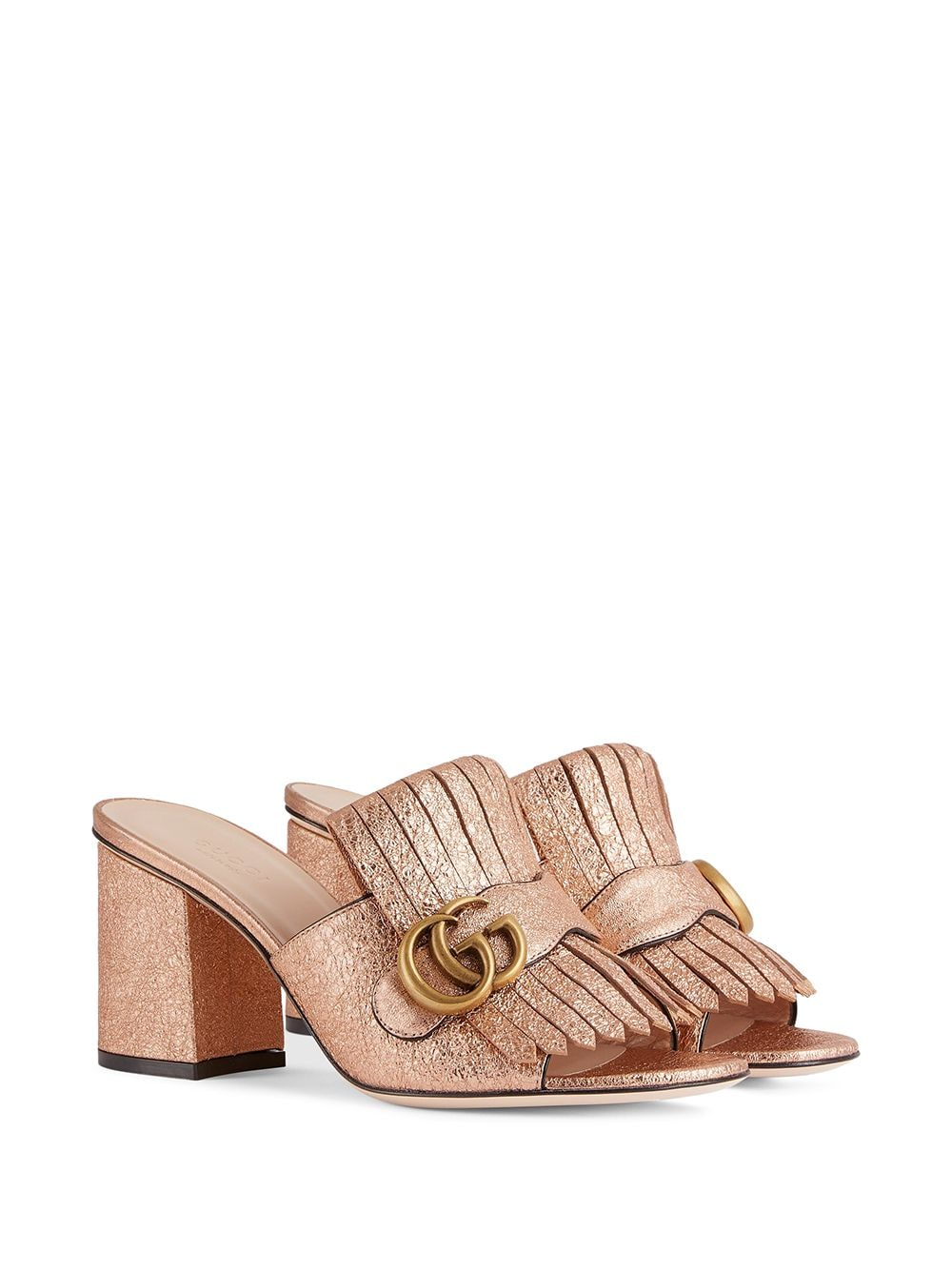 Marmont Mule - Gold 3/4