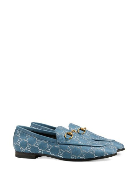 Jordaan Loafers - Blue 3/4