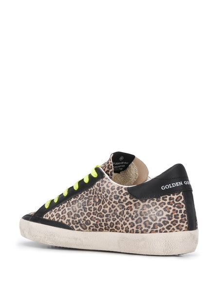 Superstar Leopard-Print Sneakers Back