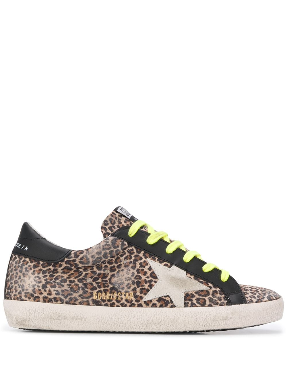 Superstar Leopard-Print Sneakers