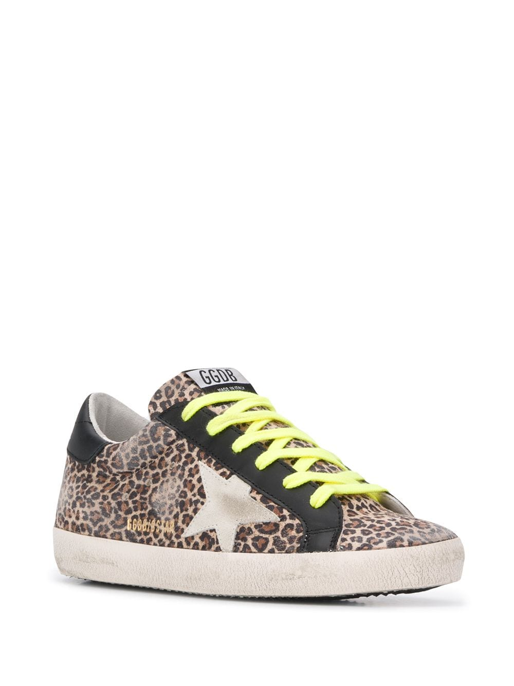 Superstar Leopard-Print Sneakers 3/4
