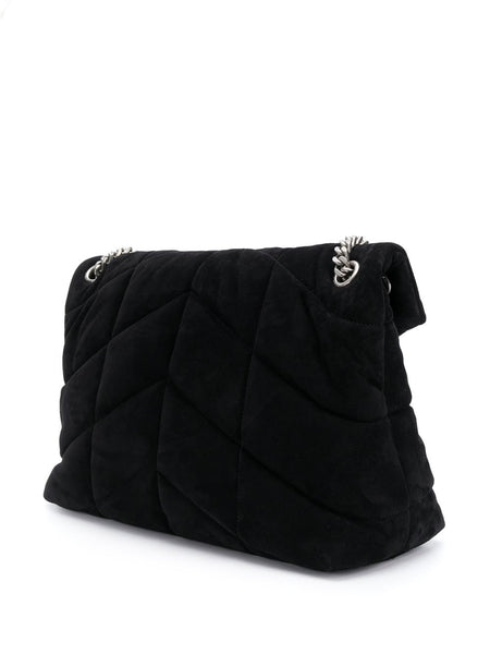 Loulou Puffer Quilted Bag Back