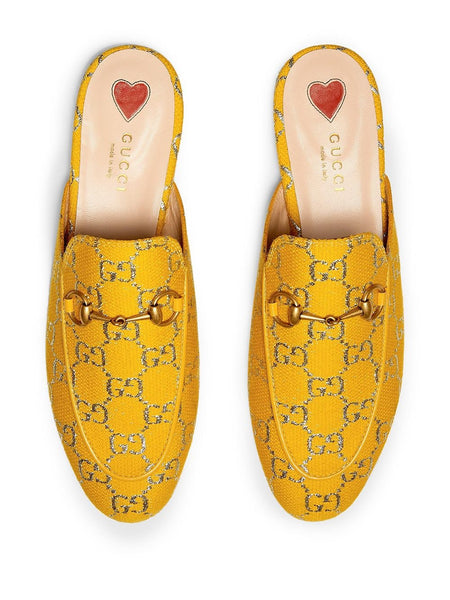 Princetown Donna Slipper - Yellow Top